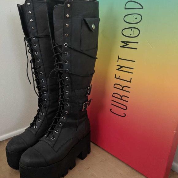 f9624be1e105f Current Mood Shoes - Current Mood - Jane Doe Boots (SZ.8)